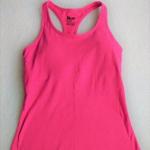 NIKE DRI-FIT Tank Top w/ built-in Bra Pink size M